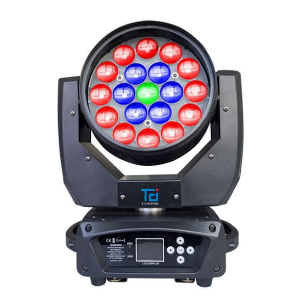 19*15W 4in1 Wash LED Moving Head ZOOM